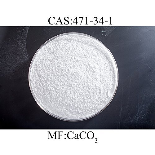 Eastchem calcium carbonate of 98% purity,CAS:471-34-1(1 pound) Caco3 Media