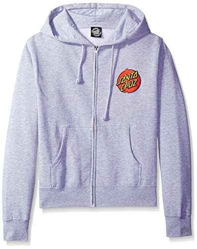NHS Santa Cruz Classic Dot Hooded Girls Zip Sweats