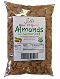 Jiva Organics Raw Unpasteurized Organic Almonds, 10 Pound