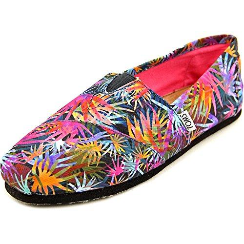 Toms Women's Classic Black Multi Casual Shoe 8.5 Women US
