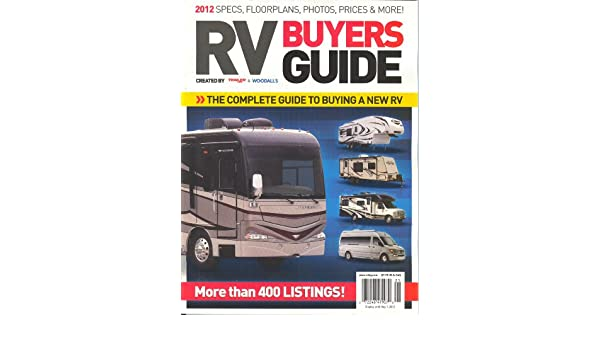 trailer life woodall s rv buyers guide 2012 kristopher bunker rh amazon com Funny RV RV Travel Guide