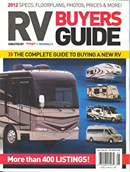 trailer life woodall s rv buyers guide 2012 kristopher bunker rh amazon com Funny RV RV Living