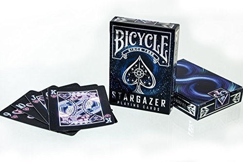 Price comparison product image BICYCLE STARGAZER (FOIL TUCK) PLAYING CARDS BY COLLECTABLE PLAYING CARDS