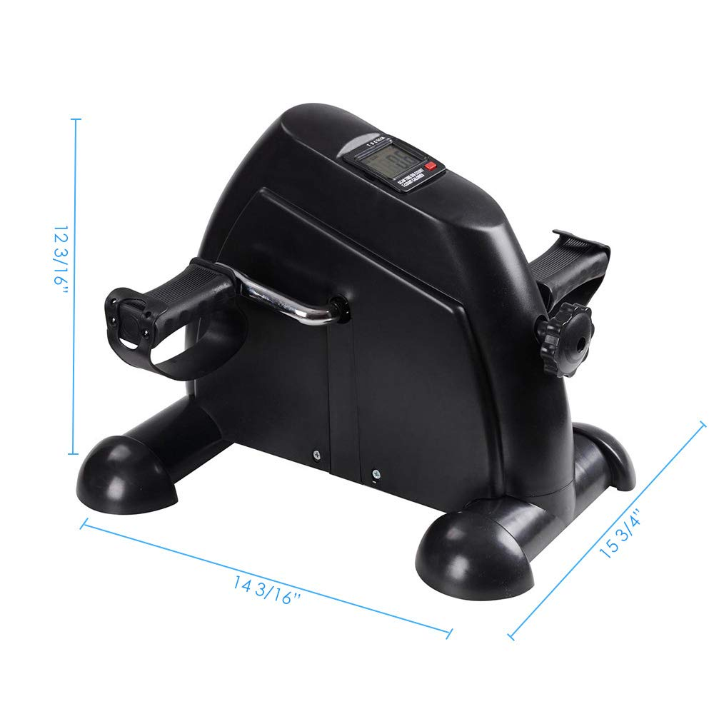AW Indoor Exercise Bike Resistance Adjustable Mini Pedal Exerciser w/LCD Display by AW (Image #6)