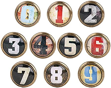 5pcs Vintage Bouton de Porte Cabinet Knob Tiroir Tirer Poign/ée Meubles Cuisine D/écor