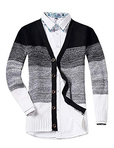 Con En Cuello Sweater V Jerseys Punto Pullover Hombre Schwarz Para Betrothales  Cárdigan q8H00YB 7f281a85e67e