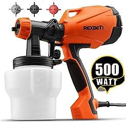 REXBETI Ultimate-750 Paint Sprayer, 500 ...