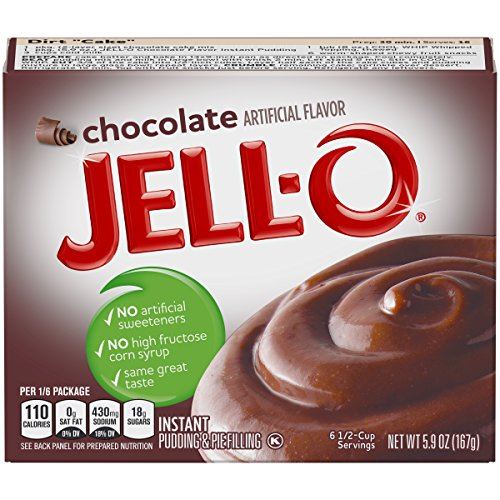 Cooked Pudding - Jell-O Instant Chocolate Pudding & Pie Filling 5.9 oz Box