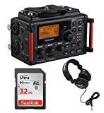 Tascam DR-60DmkII DSLR Digital Audio Recorder with SD Card and Headphones