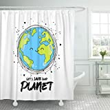 Best Planet Dog Dog Whistles - Emvency Shower Curtain Let Save Our Planet on Review