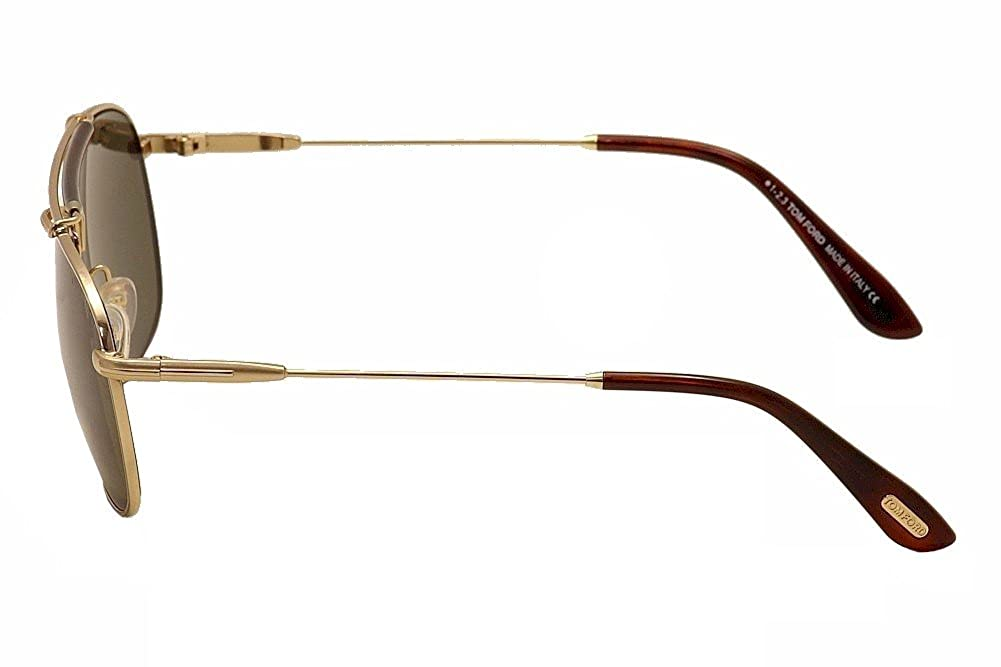 f737f6a5a1b57 Amazon.com  Tom Ford TF339-28N Gold   Brown Sunglasses  Shoes