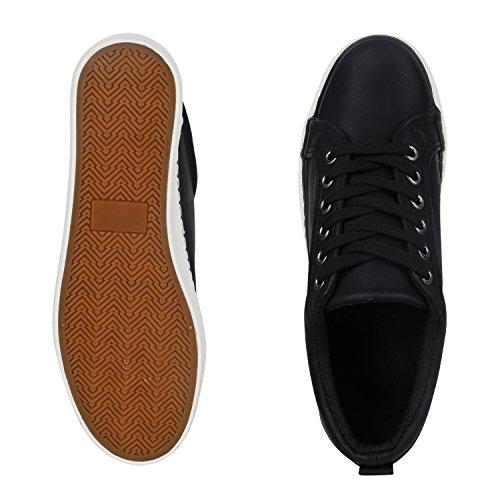 Schwarz Damen Espadrille Des Chaussures De Vie Glitzer Plateau xXzxt0w