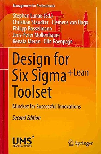 [Design for Six Sigma + LeanToolset: Mindset for Successful Innovations] (By: Stephan Lunau) [published: December, 2013] thumbnail