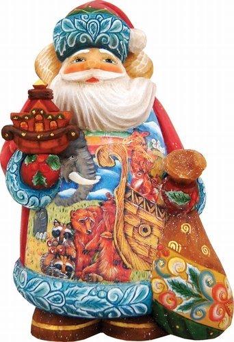 G. Debrekht Noah's Ark Santa