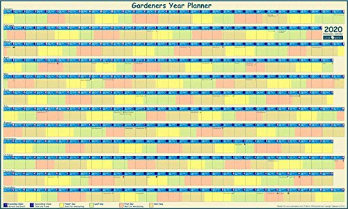 Moon Gardening Calendar 2021 with Lunar Gardening Guide Booklet