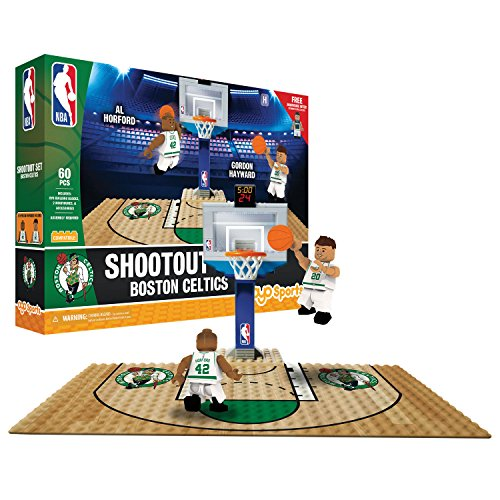 OYO NBA Boston Celtics Display Blocks Shootout Set, Small, No Color by OYO