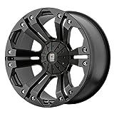 "XD Series by KMC Wheels XD778 Monster Matte Black Wheel (18x9""/6x135, 139.7mm, +18mm offset)"