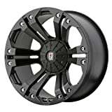 xd series rims 18 - XD Series by KMC Wheels XD778 Monster Matte Black Wheel (18x9