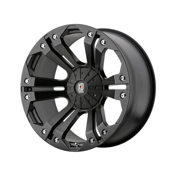 XD-Series-by-KMC-Wheels-XD778-Monster-Matte-Black-Wheel-18x98x1651mm-18mm-offset