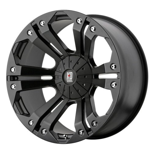 XD-Series Monster XD778 Matte Black Wheel (18x9