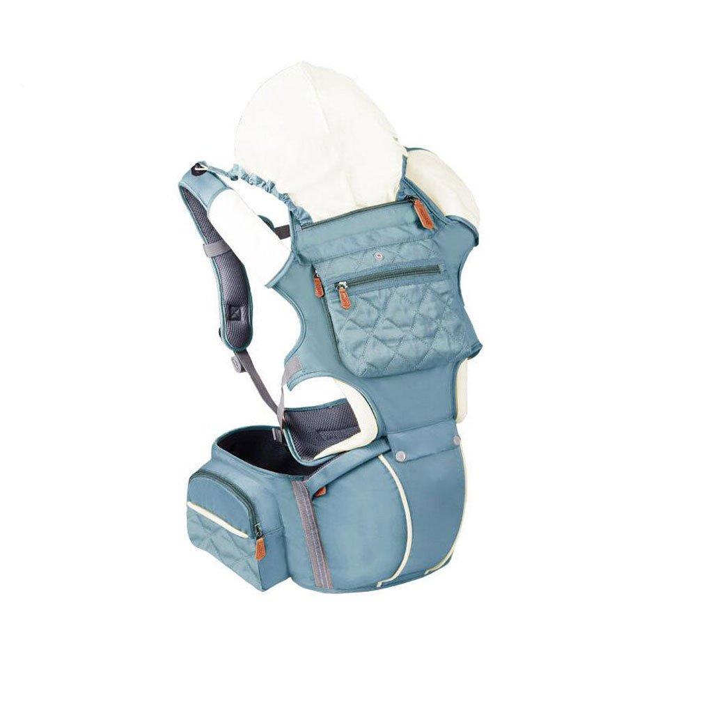 Babytrage ZHAOJING Baby-Träger-Taillen-Schemel-Baby-Multifunktionsgriff-Baby mit Kind Vier Jahreszeiten Breathable Universalkind-Bügel (Farbe : B)