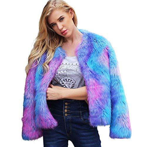 Womens Coat Hot Sale,DEATU Ladies Teen Girls Warm Faux Fur C