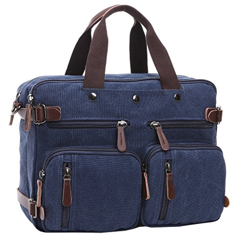 Working Bag Laptop for Bookbag Backpack Bag Bag Bag Men Bag Computer and School Crossbody Shoulder Modern Women Blue Bag Super Canvas xZfqgw7
