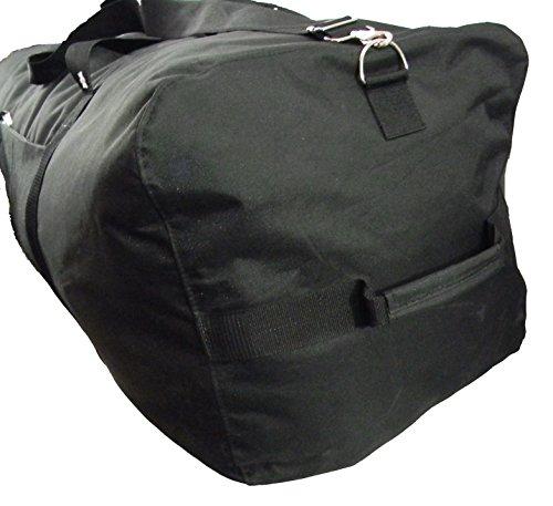 Heavy Duty Cargo Duffel Large Sport Gear Drum Set Equipment Hardware Travel Bag Rooftop Rack Bag 36 Inch Black Medium Traveling Bags by iHIM (Image #2)