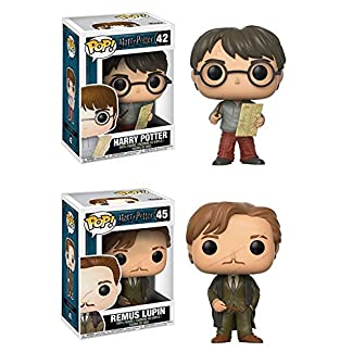 Figurine pop Harry Potter vinyle - Harry Potter w/ Marauders Map + Remus Lupin