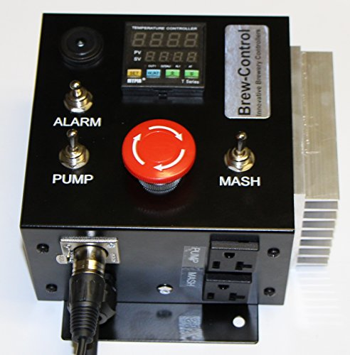 120v Electric Mash Tun / RIMS (Recirculating Infusion Mash System) Tube Controller with Pump Control by Stir-Plate (Image #1)