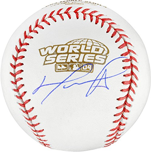 David Ortiz Boston Red Sox 2004 World Series Autographed Baseball - Fanatics Authentic Certified - Autographed Baseballs (Signed Baseball World Series 2004)