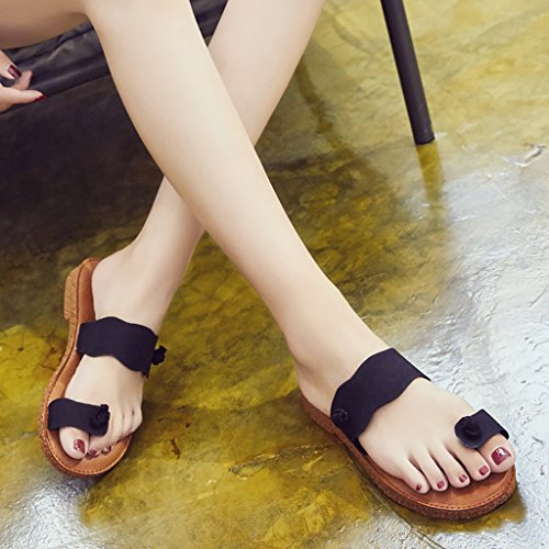 EU40 sandals Size summer B flat slippers 5 250mm Color student PENGFEI UK6 Beach L Woman B slippers wxzvIqPY