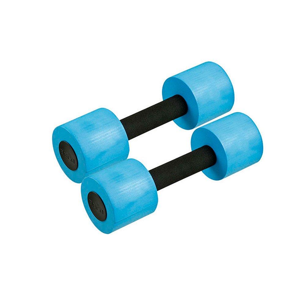 Beco - Mancuernas de agua (1 par, tamaño pequeño), color azul y negro