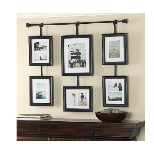 Wall Solutions Rod and Frame Set (Picture Rods Hanging)