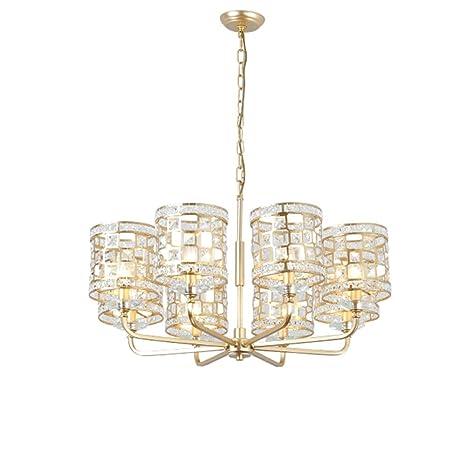 BYNNDD Lámpara De Cristal Ligera Francesa, Lámpara De La ...