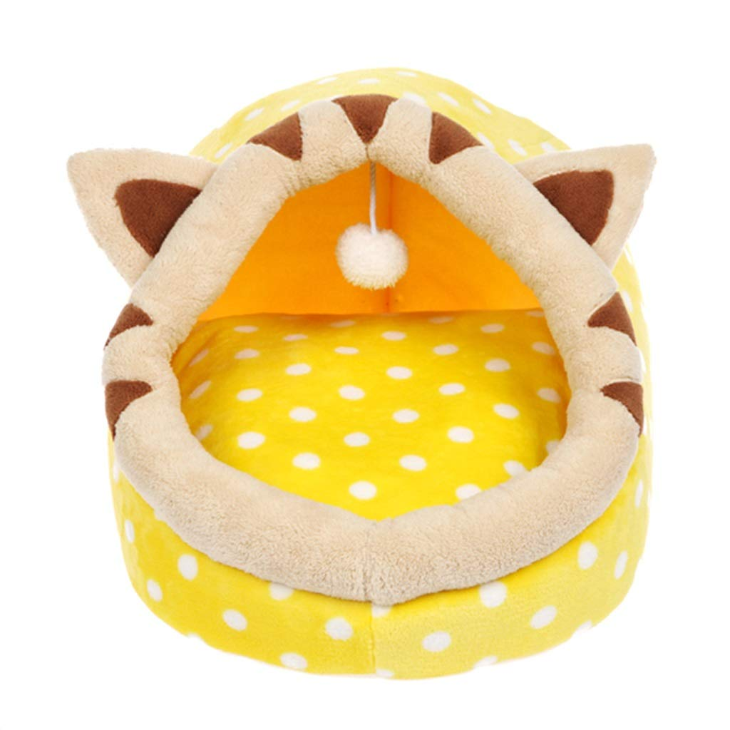 B S.35x35x32cm B S.35x35x32cm Jlxl Dog Bed, Pet Nest Goku Kennel Cat Autumn And Winter Warm For Teddy Dog House Cat With Cushion Easy To Clean (color   B, Size   S.35x35x32cm)
