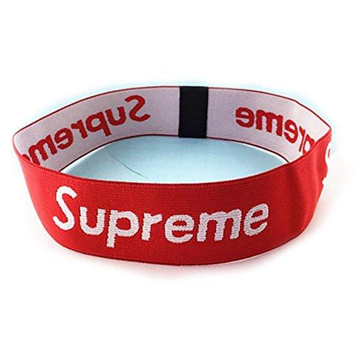SUPER Q Box Logo Style Headband, Sweatband for Teen, Boys, Girls, Men, Women - Best for Workout, Running, Basketball, Tennis