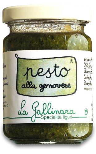 La Gallinara Pesto alla Genovese 130 g Glas