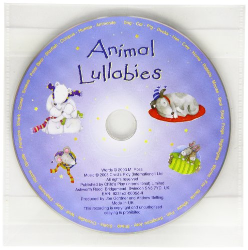 Animal Lullabies Music CD
