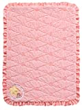 Twinkles of Joy Light Up and Musical Girls Receiving Baby Blanket, Pink Owl on the Moon