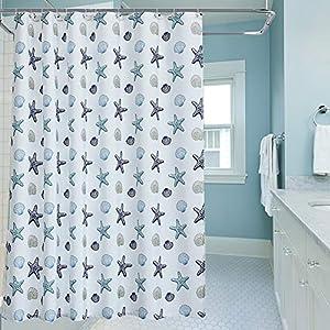 51uR-hccWuL._SS300_ Beach Shower Curtains & Nautical Shower Curtains
