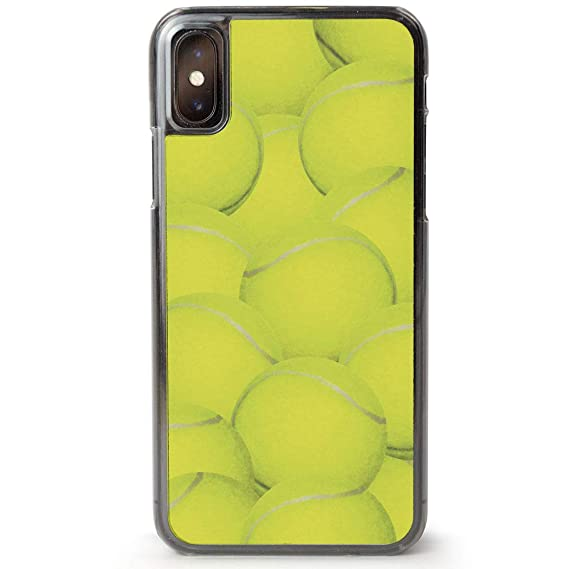 Amazon Com Tennis Iphone X Case Tennis Ball Background Cell