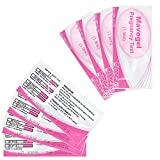25 Pregnancy Test Strips, Urine Test Strips,Home Test, Clear and 99% Accurate by Mavogel