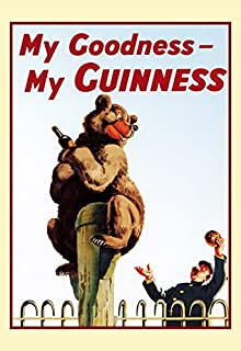 Amazon.com: Guinness Poster, My Goodness, My Guinness, Ostrich ...