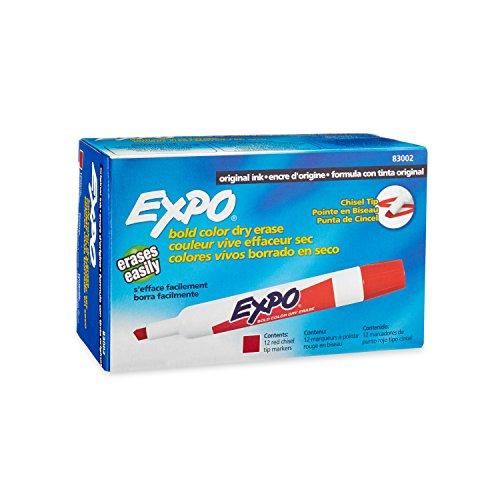 Original Erase Markers Chisel 12 Count