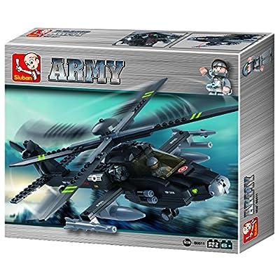 Sluban Army - M38-B0511 - Hélicoptère Apache (Apach Helicopter)