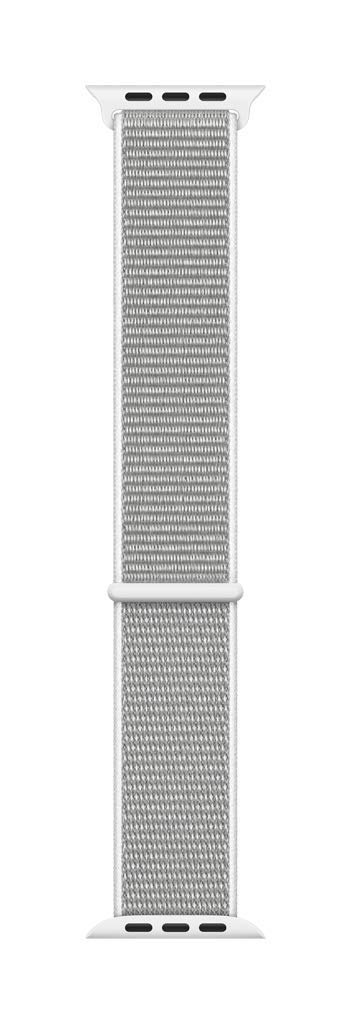 Apple Watch 40mm Sport Loop Smartwatch Replacement Band for 38mm or 40mm Watch Series 1, 2, 3 and 4 - Seashell (MTLV2AM/A)
