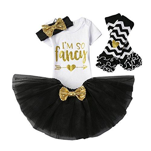 (CH&Q Newborn Baby It's My 1st/2nd Birthday Party Cake Smash Shinny Sequin Bow Tie Tulle Tutu Girl Princess Dress)