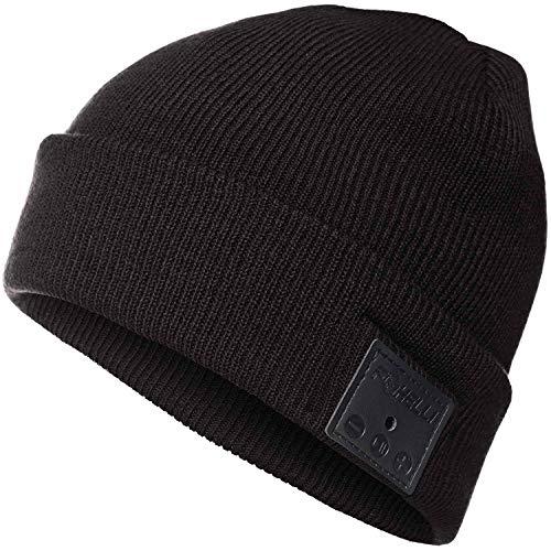 Foxelli Bluetooth Beanie – Wireless Beanie Hat with Headphones for Men & Women