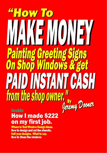 Amazon com: How to Make Money Painting Greeting Signs On Shop